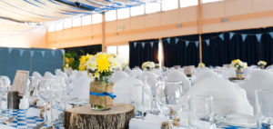 acoustic control for wedding venue