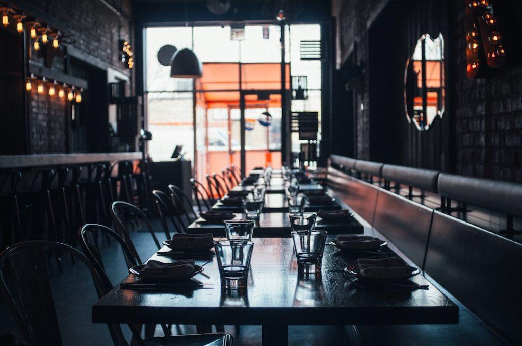 sound control for empty restaurant venue